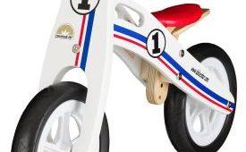 Holzlaufrad Ralley Design von Bikestar